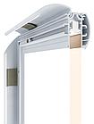Двусторонний алюминиевый профиль для тонких световых панелей с клик системой, фото 2