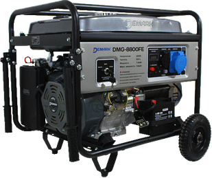 Бензиновый генератор DEMARK DMG 8800 FE однофазный 220