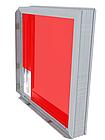 Базовый короб 50мм для светового короба с установкой клик рамки, фото 3