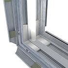 Базовый короб 100мм для светового короба с установкой клик рамки, фото 2