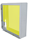 Базовый короб 100мм для светового короба с установкой клик рамки, фото 3