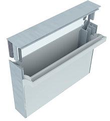 Алюминиевый профиль для натяжки ткани 50мм (световой)