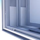 Алюминиевый профиль для натяжки ткани 100мм (световой), фото 3
