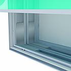 Алюминиевый профиль для натяжки ткани 100мм (световой), фото 4