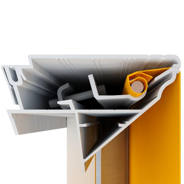 Профиль для баннера BannerBox 110 mm алюминиевый