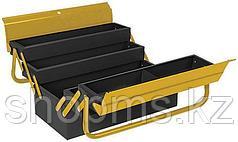 Ящик для инструмента металлический с 4-мя раздвижными отделениями  530х200х200 мм
