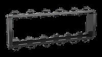 DKC Каркас 6 мод Viva In-liner Front черный, фото 1