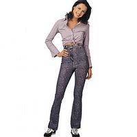 Антицеллюлитные брюки с эффектом сауны Turbo Cell Jeans Leggins