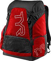 Рюкзак TYR Alliance 45L Backpack цвет 510 Фиолетовый/Черный полиэстер, нейлон , 45 литров, TYR, 51x34x27 см, 640 Красный/Черный