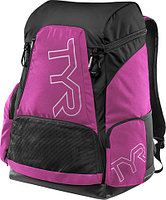 Рюкзак TYR Alliance 45L Backpack цвет 694 Розовый/Черный