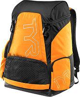 Рюкзак TYR Alliance 45L Backpack цвет 820 Светло-оранжевый/Черный