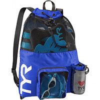 Рюкзак для аксессуаров TYR Big Mesh Mummy Backpack 001 100% полиэстер, 40 литров, TYR, 64 см х 48 см, 428 Голубой