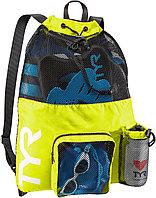 Рюкзак для аксессуаров TYR Big Mesh Mummy Backpack 001 100% полиэстер, 40 литров, TYR, 64 см х 48 см, 730 Светло-желтый