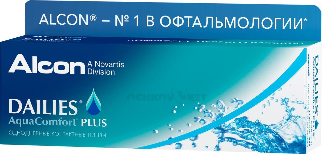 Однодневные линзы Deilies Aqua Comfort (30 блистеров) - фото 1