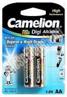 Camelion Digi Alkaline AAА 2 шт. в пачке.