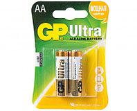 GP Ultra Alkaline AA 2 шт. в пачке.