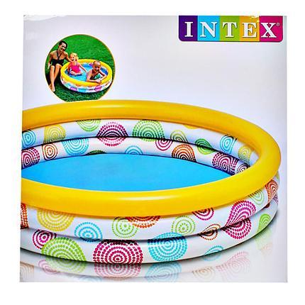 Детский надувной бассейн Intex 59419 NP (114 х 25 см на 132 литра), фото 2