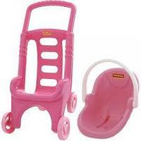 "Детская коляска  ""Pink Line 2х1"""