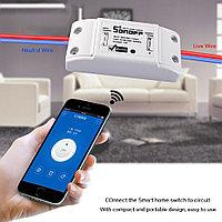 Sonoff base Wi-Fi реле для умного дома с управлением со смартфона через интернет
