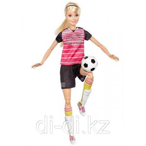 """Кукла Барби Серии """"Безграничные движения"""" Футболистка (блондинка) 29 см"""
