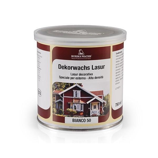 Декоративная восковая эмаль DEKORWACHES LASUR DARK CHOCOLATE, Темный шоколад 63 (750 мл)