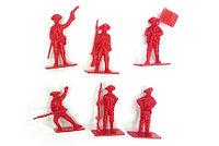 """Солдатики """"Военный отряд"""" красные, 6 шт, Рыжий кот"""