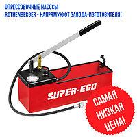Ручной опрессовщик давлением до 120 бар SUPER-EGO (ROTHENBERGER) TP120