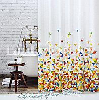 Водонепроницаемая тканевая шторка для ванной Tropik World of Colors 180x200 см