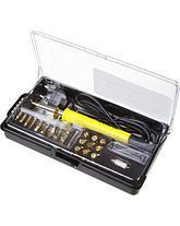 Пирограф прибор для выжигания по дереву STAYER 45227, PROFESSIONAL, 3 в 1, с набором насадок 20 шт., фото 3