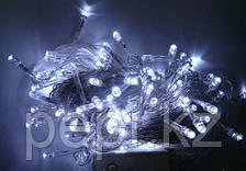 Гирлянда LED белая светодиодная 100 ламп
