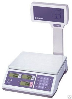 Торговые весы CAS (Юж. Корея) ER-JR30CBU