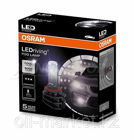 OSRAM Светодиодные противотуманные лампы типа H8/H11/H16, 13W 12V PGJ19-X 6000К, фото 2
