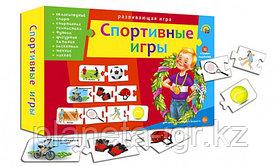 """Развивающая игра """"Ассоциации цепочкой """"Спортивные игры"""" , 32 игровых карточки, Рыжий кот"""