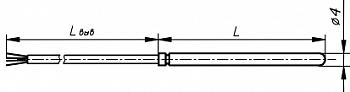 Термопреобразователь КТПТР 03 2 Pt500
