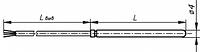 Термопреобразователь КТПТР 03 2 Pt500, фото 1