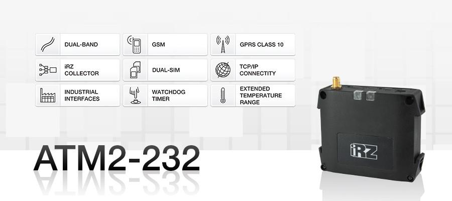 GSM Модем IRZ ATM2 232