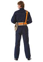 Пояс строительный тип Б с односторонней лямкой и сумкой (канат)