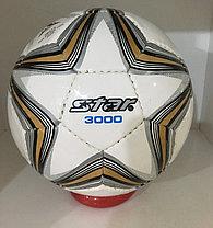 Футбольный мяч Star кожаный сшитый, фото 3