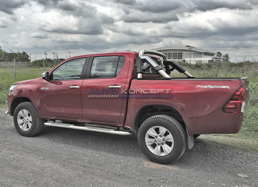 Дуга из нержавеющей стали для пикапа Toyota Hilux Revo (Тойота Хайлакс)