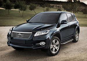 "Порог-площадка ""Premium"" Toyota Rav 4 2006-2010"