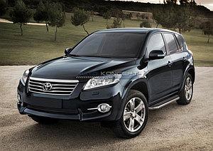 "Порог-площадка ""Premium"" Toyota Rav 4, Long 2010-2013"