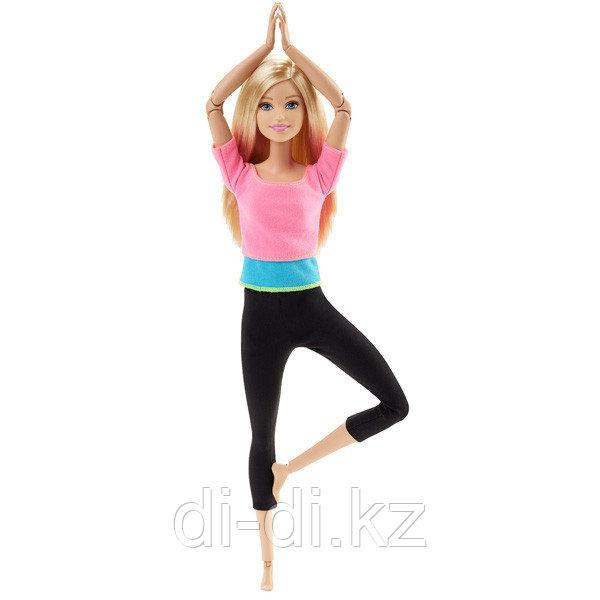 """Barbie  Барби серия """"Безграничные движения"""" Кукла барби Блондинка в розовом"""
