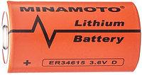 Литиевый элемент питания MINAMOTO ER34615 3 6В
