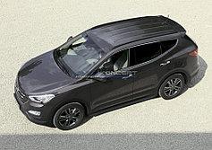 Пороги, подножки Hyundai Santa Fe 2010-2012