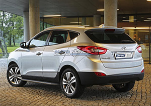 "Порог-площадка ""Premium"" Hyundai IX35 2010-2013-2015"