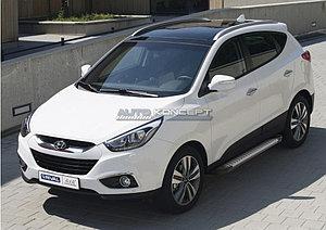 """Порог-площадка """"Bmw-Style"""" Hyundai IX35 2010-2013-2015"""