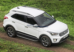 "Порог-площадка ""Premium"" Hyundai Creta 2016-"