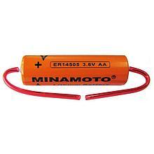 Литиевый элемент питания MINAMOTO ER14505 W AA Аксиальный выход