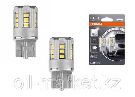 OSRAM Лампа светодиодная LED W21/5W 12V 2.5W W3x16q standard retrofit / холодный белый / 6000K / W21/5W, фото 2