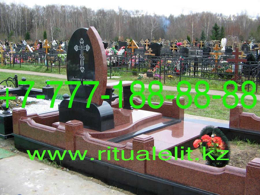 Строительство могилы на кладбище